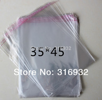 Clear Resealable Cellophane/BOPP/Poly Bags 35*45cm  Transparent Opp Bag Packing Plastic Bags Self Adhesive Seal