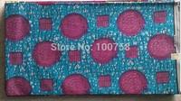 2014 Free shipping !    New arrival african super wax  cotton hollandais  wax fabric  LFHL08