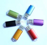 Wholesale USB2.0 flash memory pen drive 128MB 30PCS per lot color mix