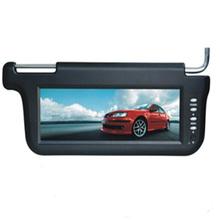 Left 10.2 Inch 640x480 TFT LCD Car Sun Visor Monitors Display 2 Ways Video Input(China (Mainland))