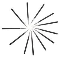 Black Handle Small Eyelining Brush free shipping