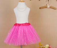 2014 New Summer Arrival Free Shiping Princess Skirt Girls Tulle Skirt Tutu Pettiskirt For Beautiful Little Girls