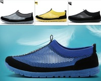 2014 Summer Mens Shoes Flat Casual Breathable Shoes England  Loafers on shoes Beach mesh shoes 2015
