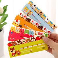 20pcs/lot Korea Creative Stationery Cute Cartoon Sticky Notes Paper Memo Pad Diary Notepad 11.3*4.7cm School Supplies Wholesale