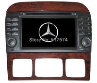 Car Head Unit Sat Nav DVD Player  For Mercedes-Benz S-class W220 (1999-2005) with GPS Navigation Radio TV  USB SD iPod Bluetooth