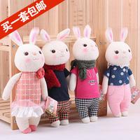 Wedding Doll Tiramisu rabbit METOO with rabbit doll plush toys gift doll