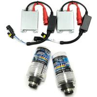 Free Shipping AC12V 55W HID Xenon Kit Bulb Silver Slim Ballast Conversion D2S 12000K Headlight [CPA259]