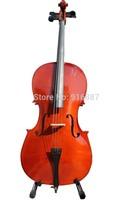 Free shipping violoncello, 4/4 3/4 1/2 1/4 1/8 violoncellos available, violoncello with cello bag, rosin