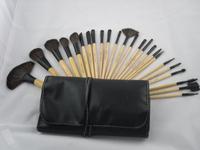 24 professional makeup brush  Makeup brush set Colour makeup tools Persian wool makeup tools free shipping HZS019