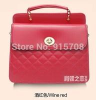 Korean version of the lozenge bag handbag 2014 new European and American fashion retro fashion shoulder messenger bag