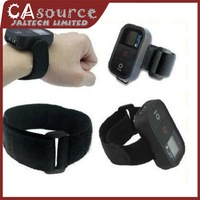 4 colors Nylon Velcro WiFi Remote Hand Wrist Armband Strap Belt for GoPro Hero 3 pluse remote and hero 3 remote Free Shipping