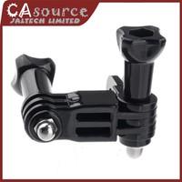 New 2014 Three-way Adjustable Pivot Arm for Gopro HD Hero 1 2 3 3  Camera Camcorder  FREE SHIPPING