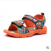 Size21-36 summer kids sandals boys genuine cow leather sandals shoes footwear children shoes sandels sandale 3 colors A115