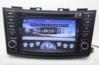 Car DVD GPS for Suzuki Swift 2011 2012 Head unit Bluetooth TV IPOD Radio Steering wheel control Free shipping