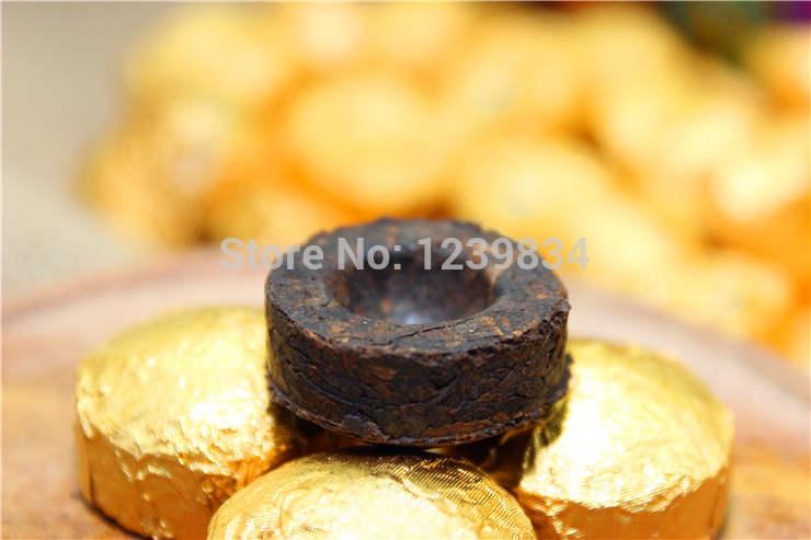 100pcs Ripe puerh tea Yunnan Puer Pu er tea puer tea Free Shipping