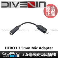 """ Original authentic "" GoPro Hero 3 Mic Adapter 3.5microphone plug wire"