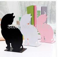 Creative lazy other desktop bookend metal shelves
