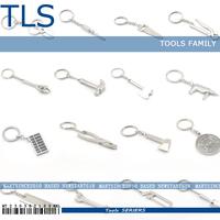 Metal Adjustable Creative Tool Wrench Spanner Key Chain Ring Keyring Mini Cute STYLE SEND RANDOMLY