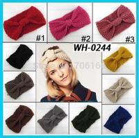 handmade niblet crochet girls headbands , knit headwrap  , Epacket free shipping