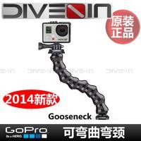 """ DIVE-IN authentic "" GoPro Hero3 3 + Gooseneck bendable bent neck"