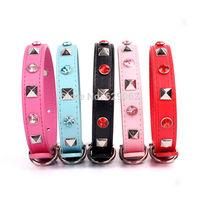 100pcs/lot large number wholesale Pet supplies Cat dog's collar puppy collar Fashionable dog diamond necklace