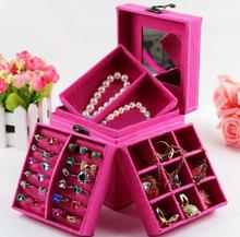 wholesale mirrored jewelry organizer