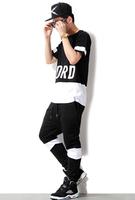 Sports Harem Pants Mens Crook Jogger Pants Casual  Boys Sweatpants Men and Women Hiphop Loose Trousers