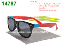 The new design sunglasses unisex sunglasses glasses interchangeable Glasses legs  (band box + cloth + case)