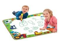 Water Drawing doodle mat Aquadoodle magic water mat ,eggs toy , Big size 80*80cm  Aquadoodle Doodle Mat& Magic Pen r1287
