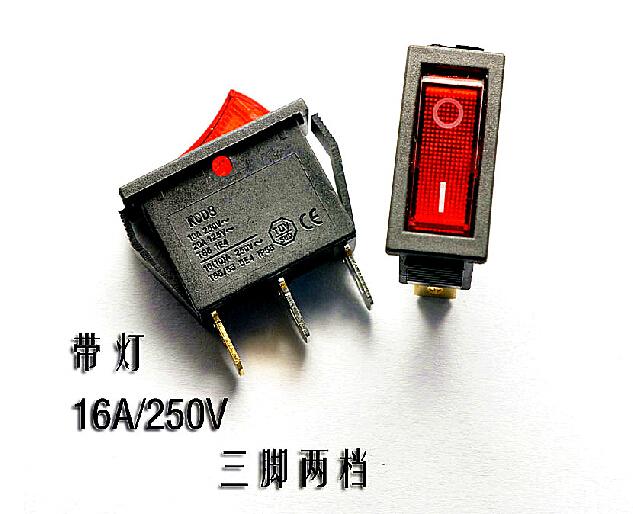 Кулисный переключатель CHINA 3 2 kcd3/101n 16A 250V KCD3-101N