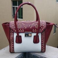 2014 New Fashion European style Brand Womens leather handbags high-capacity Single shoulder bag ladies tote 5 colors Dropship