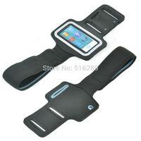 5pcs Free Shipping New Sports Running Armband for iPod Nano 7 Elastic Rubber  BLACK
