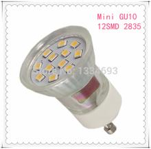 Mini GU10  2.0W   12SMD  2835  LED  Spotlight  AC 230V(China (Mainland))
