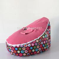 Free shipping ORANGE SPLASH original baby seat, kid new chair, infant beanbag sofa chair, sleeping bean bags, 2 tops baby seat