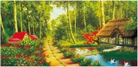 2014 new arrival diy acrylic painting paint by nubmer kit tonghua home unique gift home decor