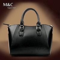 M&C Handbag New 2014 Women Genuine Leather Handbag Famous Brand Cowhide Handbag Women Messenger Bags Totes 5 Colors SD-098