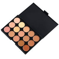 Camouflage Concealer 15 Colors An ensemble of multiple vibrant longwear concealer colors