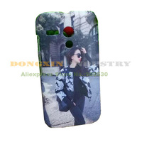 20pcs/lot 3D Blank Sublimation Phone cover case For M o t o G Free Shipping