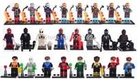 Avengers Alliance, Green Lantern, Iron Man, Spider-Man, Super Heros Kids Building blocks assemble Minifigures. No original box
