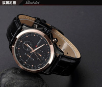 2014 New Fashion Brand Watch Men Curren Genuine Leather Strap Watch Men Quartz Watch For Man Dress Watch Casual WristwatchML0273