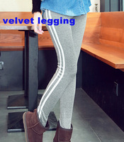 Autumn Winter women warm velvet thick sport legging fashion sexy ladies' Footless Jegging leggings Slim Stretch Pants
