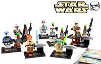 Star War Minifigures SY195 8Pcs/lot DIY Building Blocks Learning & Education Baby Toy Compatible No Original Box