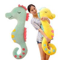 Children hippocampal creative pillow stuffed boyfriend pillow big lovely doll