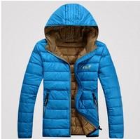 Hot! new  short down jacket  waterproof jacket solid color ultra-thin models men  down jacket models genuine tide down jacket