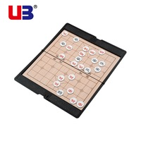 Ub Cat portable magnetic drauhghts chinese chess a good helper