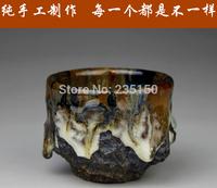 Purple cup full manual Yurun Jinsha cup of tea tea cup tea cup purple