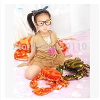 The sea park sea world crab stuffed pillow