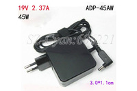 Free shipping , AC Adapter Charger 19V 2.37A 45W For ASUS Zenbook UX21 UX21E UX31 UX31E