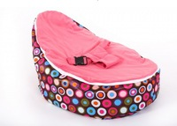 Free shipping soft suede baby fun beanbag chair, baby smile bean bag seat, baby sofa toddlers