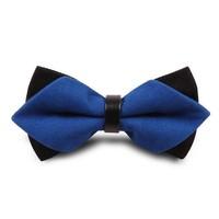 cotton solid color men's bow tie butterflies neckties cravat